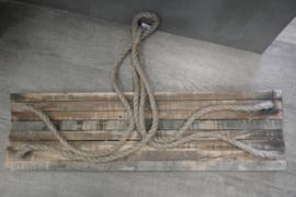 Wandplank touw L