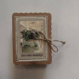 Soap in a box || Een klein bedankje