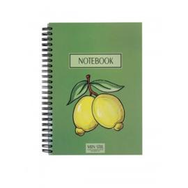 Mijn Stijl || Notebook citroen (groen)