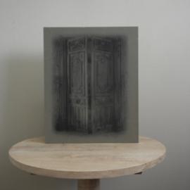 X Kalkverf schilders paneel deur