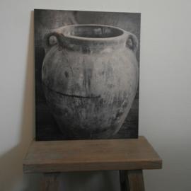Schilderspaneel oude pot