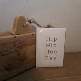 Geurkaart hip hip hooray