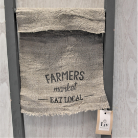 Shabbydoek | Farmers market eat local