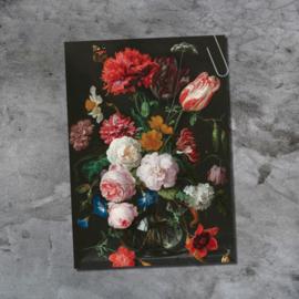 Ansichtkaart - Vaas met bloemen