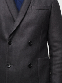 JIGSAW Pique Wool Double Breasted Shawl Blazer maat 38