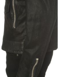 THE KOOPLES Jacket In Washed Leather maat L