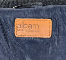 ALBAM Melton Wool Bomber Jacket maat 1 (S)