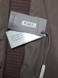 RAKE Double Breasted Mac maat 50