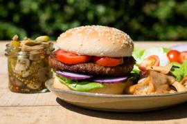 Mushroom en Beefburger