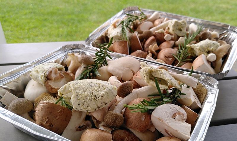 BBQ paddenstoelen melange