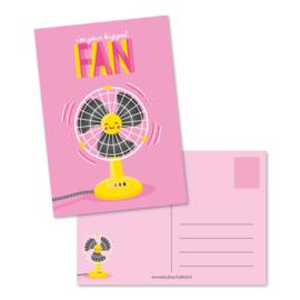 Biggest fan - kaart