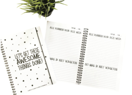 Awesome planner - notitieboek