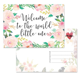 Welcome to the world - kaart