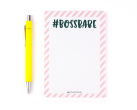 Bossbabe - notitieblokje