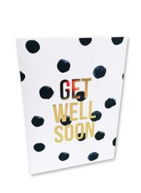 Get well soon - kaart + envelop