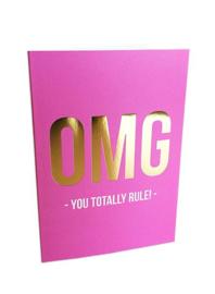You totally rule - kaart + envelop