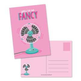 You're so fancy - kaart
