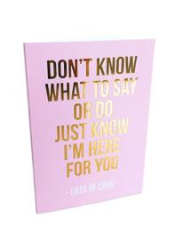 Lots of love - kaart + envelop