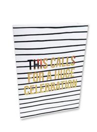 Huge celebration - kaart + envelop