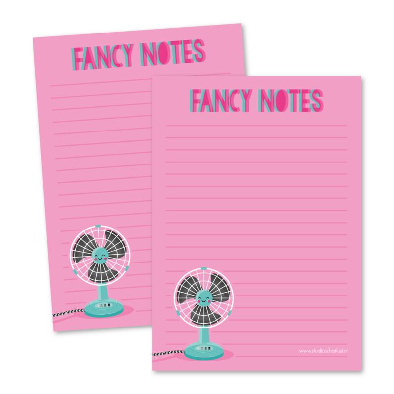 Fancy notes - notitieblokje
