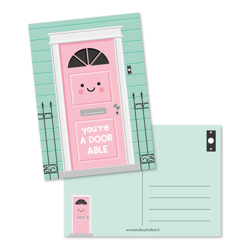 You're adoorable - kaart