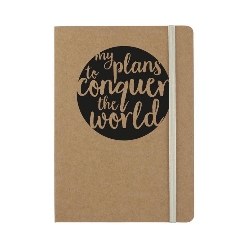My plans to conquer kraft - notitieboekje