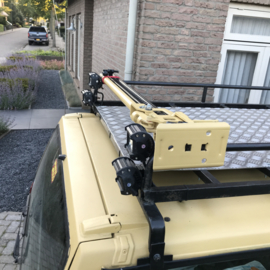 Farmerjack bracket on roofrack