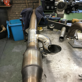 "Valves  in 3"" stainless exhaust"
