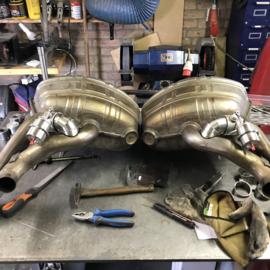 Porsche 997 non-turbo exhaust valves