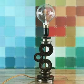 Tandwielen lamp