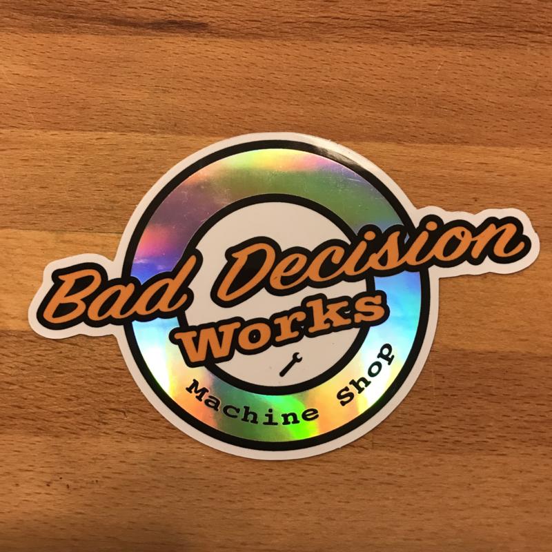 BDW Holografische Sticker