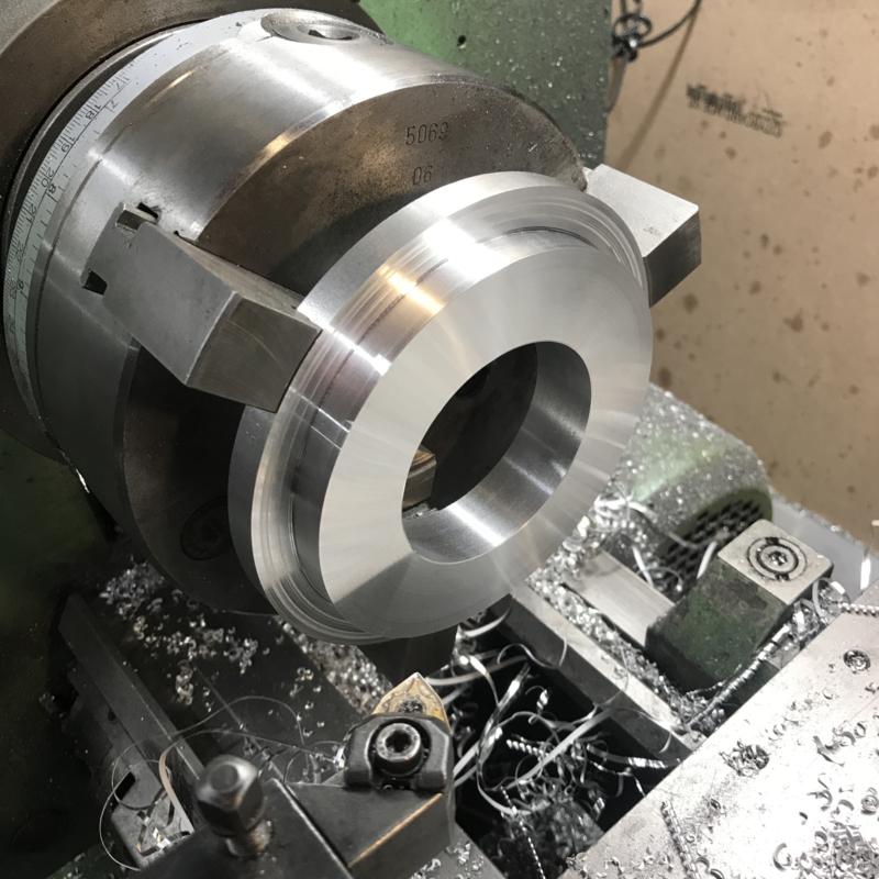 Aluminium adapterplates for coilovers