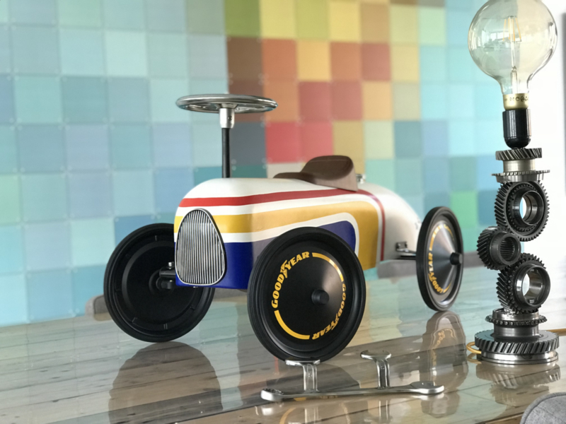 Ayrton Senna Themed Retro Roller