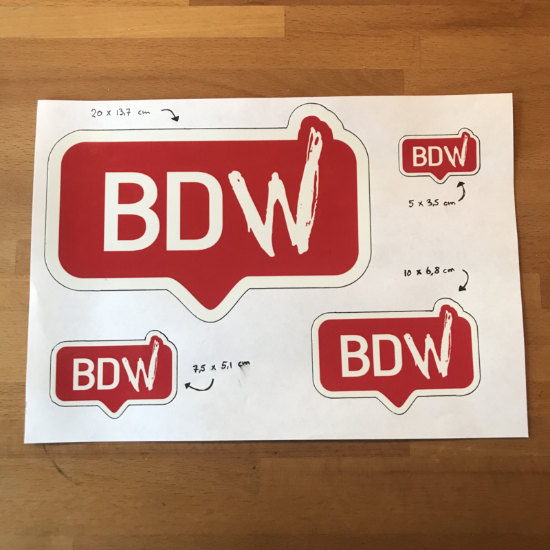 Bad Decision Works Stickers
