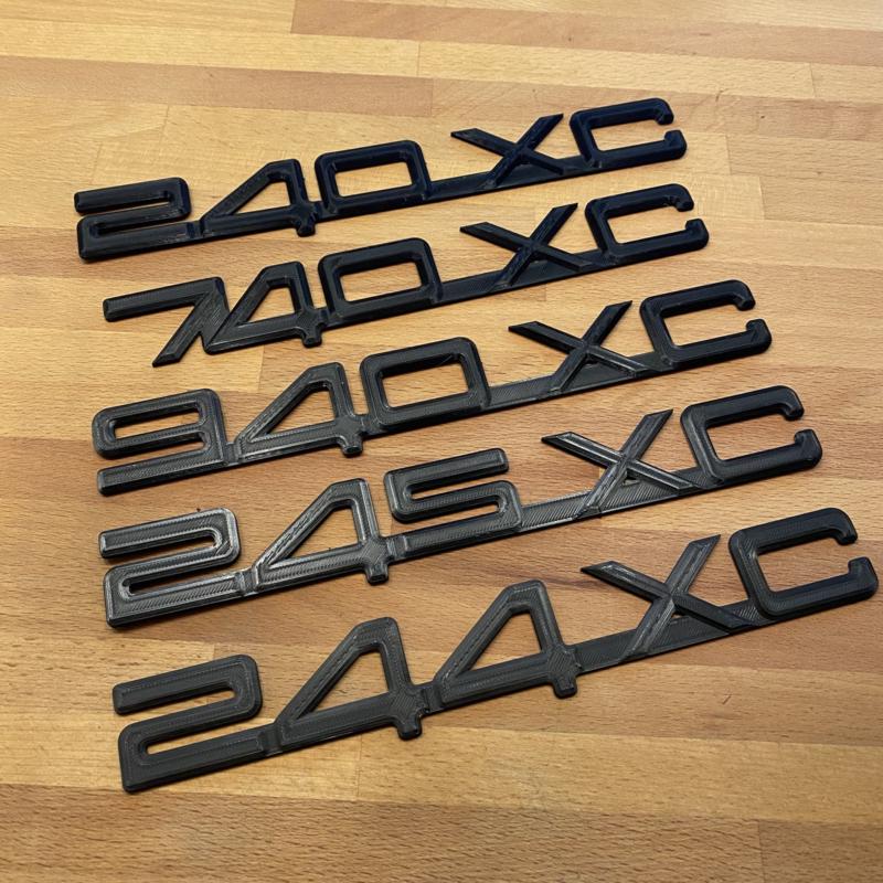 XC badges