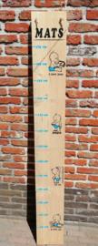 Groeimeter van steigerhout