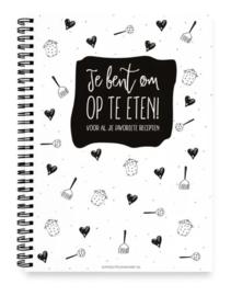 Winkeltje van Anne | Receptenboek invuboek