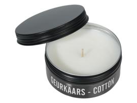 MIJN STIJL | Geurkaars Blikje Sojawax Cotton