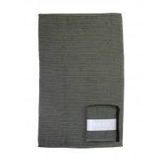 MIJNSTIJL | Handdoek (keuken) groen met banderol