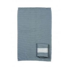 MIJNSTIJL | Handdoek (keuken) licht blauw met banderol