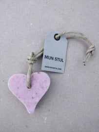 Zeephanger hart roze