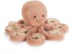 JELLYCAT | Odell octopus klein 23 cm