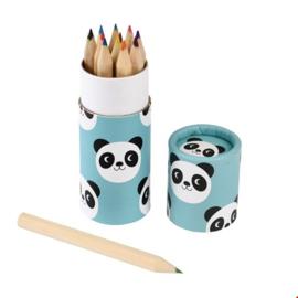 Kleurpotloden  Miko de panda