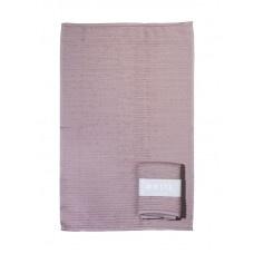 MIJNSTIJL | Handdoek (keuken)oud roze met banderol
