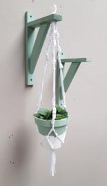 Workshop Moederdag Duo | Macramé plantenhanger + pot