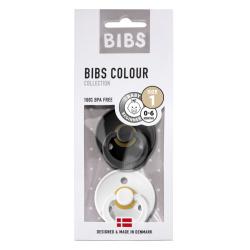 BIBS DUO | Black / White maat 1 : 0-6 maanden