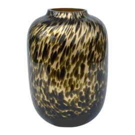 VAZEN | Vase Cheetah Gold Xl