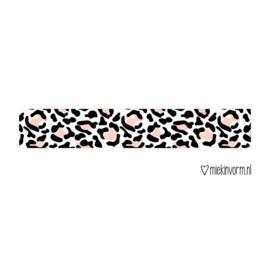 Miekinvorm | Maskingtape panter roze