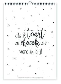 Winkeltje van Anne | Verjaardagskalender taart & chocola