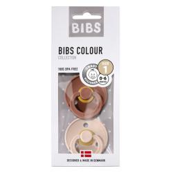 BIBS DUO | Blush / Woodchunk maat 1 : 0-6 maanden